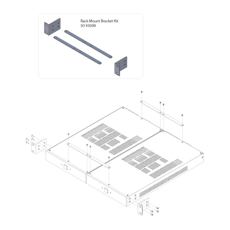 diverses    sonance rack mount bracket 2-100  150