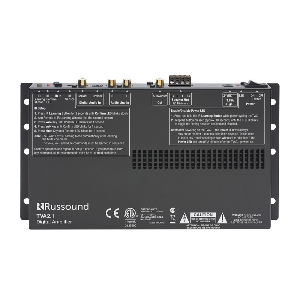 Verstärker :: 2-Kanal Verstärker :: TVA2.1 TV-Amplifier - Alto HiFi Shop