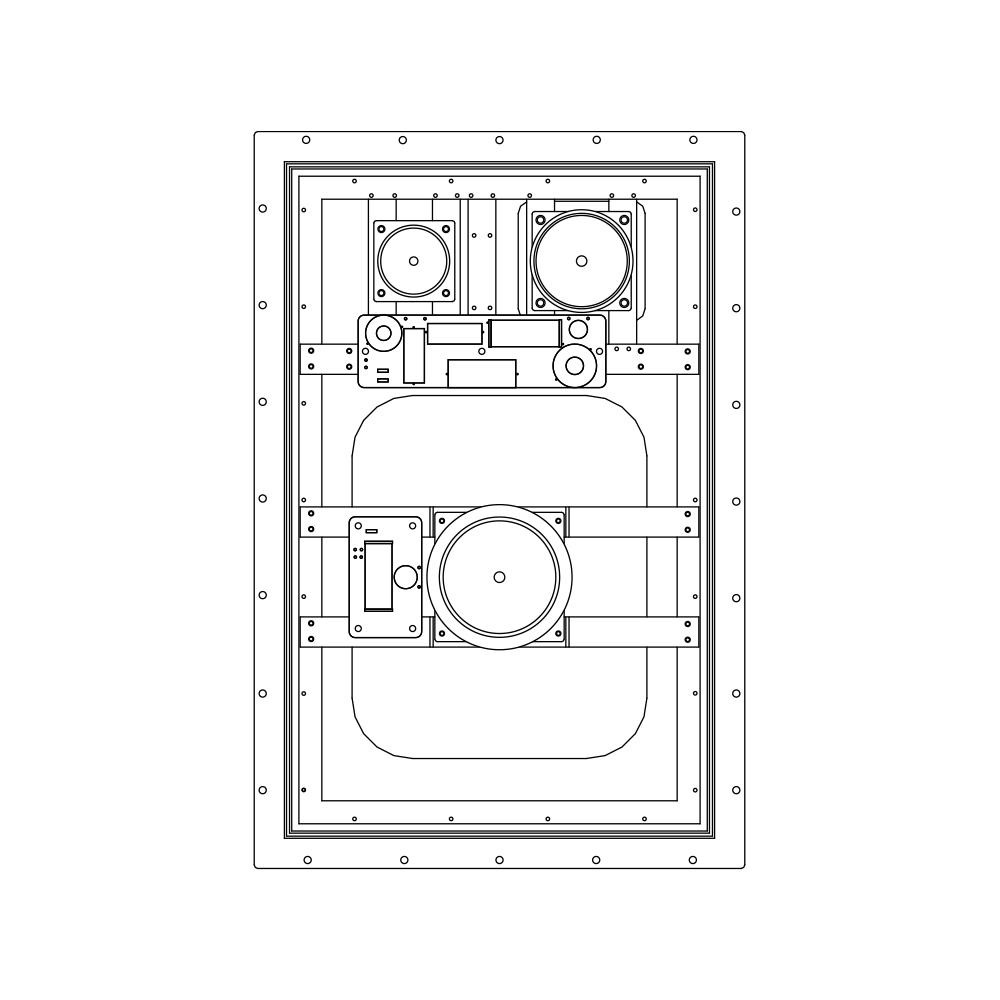 einbaulautsprecher    sonance    invisible series    is4c  invisible speaker    100 volt