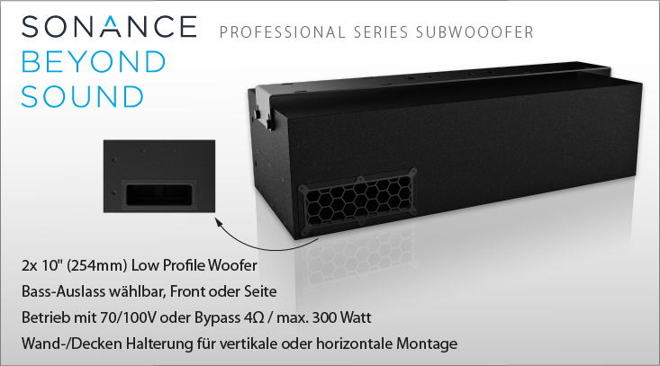Sonance PS-S210SUBT