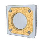 sonaboxx - Einbetonier-Gehäuse R210Z7SB - für Lautsprecher in Sichtbeton