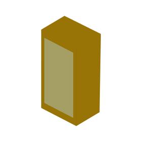 holzgehause rechteckig 63z9-u0