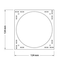 Adapter square VP3SQ zeichnung