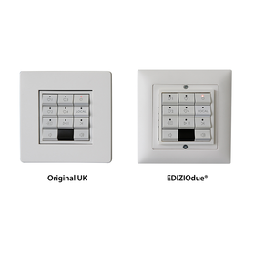 Anpassungs-Kit EdizioDue® für Keypads KSP3 & KPS11 - Systemline S7