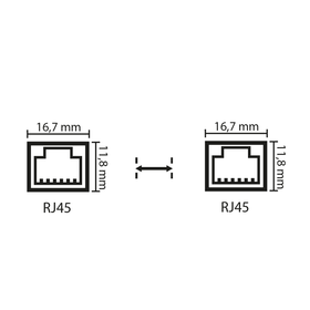 RJ45-Stecker 0bhn-e0 u8np-sj
