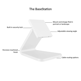 BaseStation white text