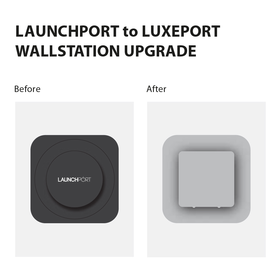 LaunchPort to LuxePort Wallstation Upgrade bd64-uv