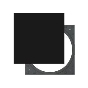 Square Adapter Set black