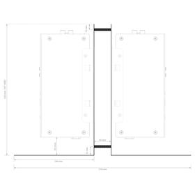Systemline S7 Montage Set - 30mm