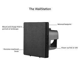 WallStation black text