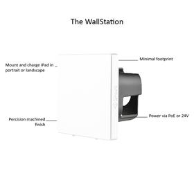 WallStation white text