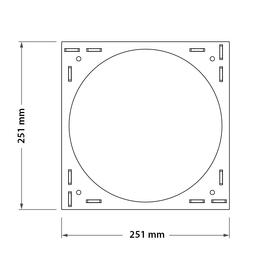 Adapter square VP6SQ zeichnung mc9w-qy