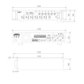 MX2406 MX5006 Dimensionen xqwz-q6