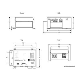 Systemlinie NetConnect Amp (SN1210)