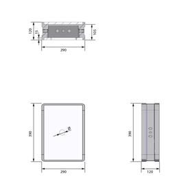 wallboxx WB2903R - Masse