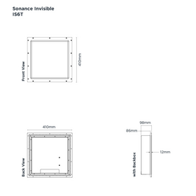 Sonance Invisible Series - IS6T