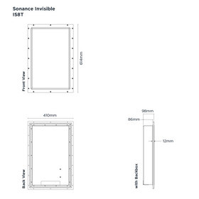 Sonance Invisible Series - IS8T